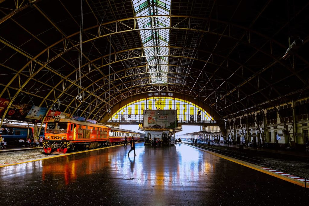 Ayutthaya Tagestour Hua Lamphong Railway Station Bahnhof Bangkok Thailand