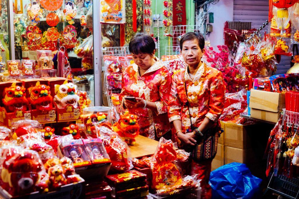Chinesisches Neujahrsfest in Bangkoks Chinatown