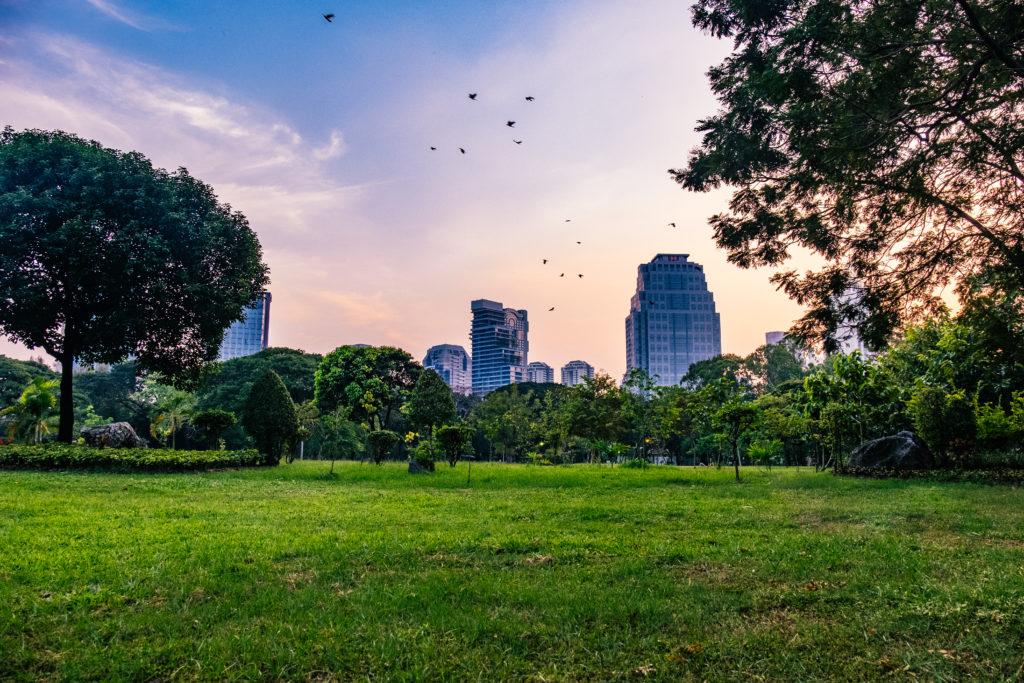 Lumphini Park un Bangkok, Thailand