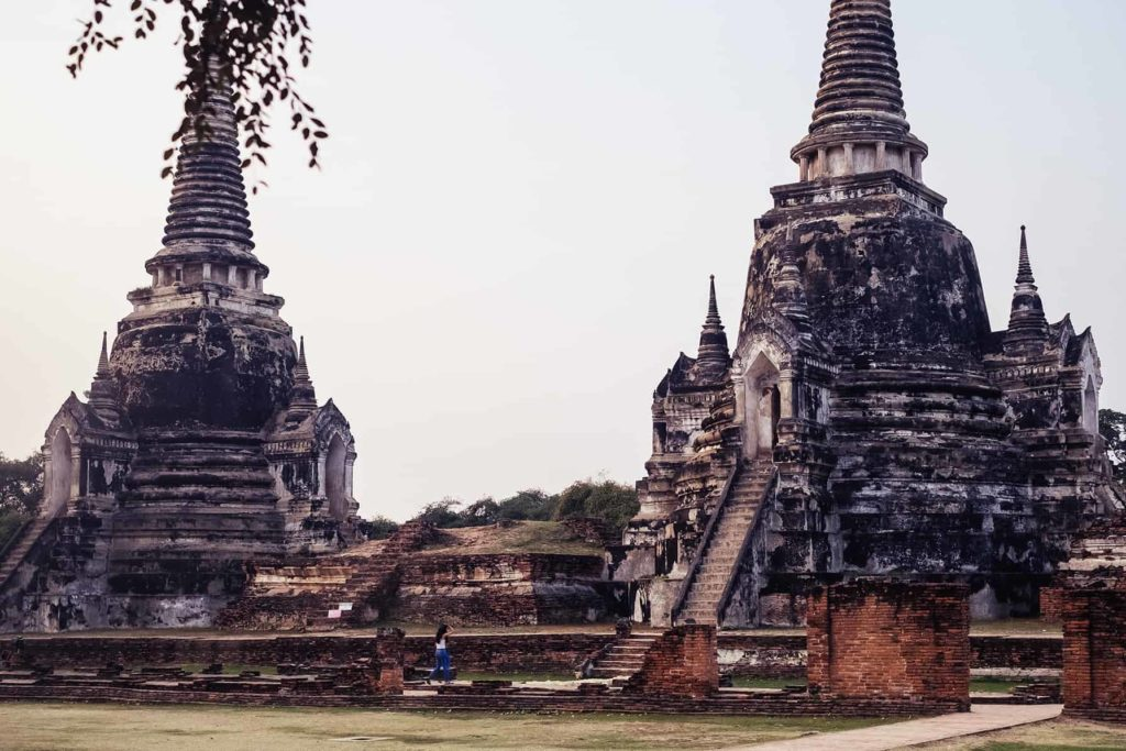 Wat-Phra-Si-Sanphet-in-Ayutthaya-Thailand