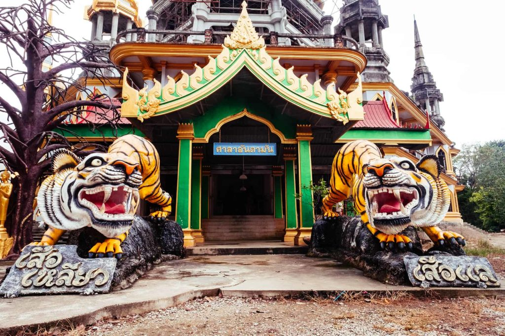 Wat Tham Suea Thailand Tiger Cave Temple