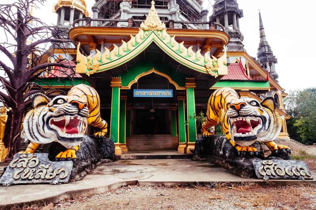 Wat Tham Suea Thailand Tiger Cave Temple