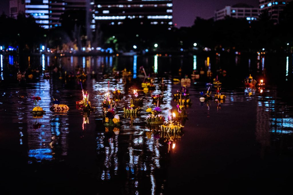 Top 10 Bangkok loi krathong lumphini park